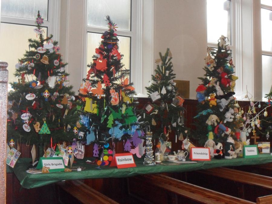 Barnsley Methodist Circuit Festival Of Trees At Buckley