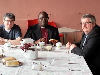 Bishop Olu at Mens Breakfast