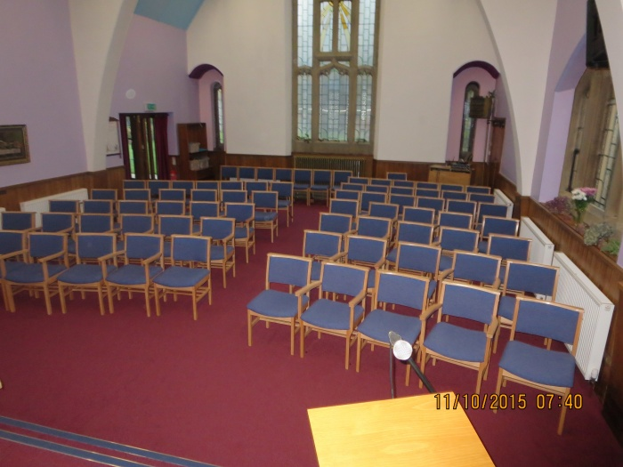 Church refurbishment -