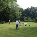 Games on the lawn - Dodworth Garden Party