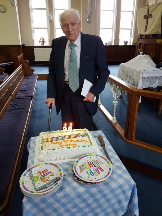 Geoffrey Shone 90th Birthday