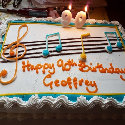 Geoffrey Shone 90th Birthday --