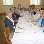 Happy Diners at Monk Bretton Lunch Club