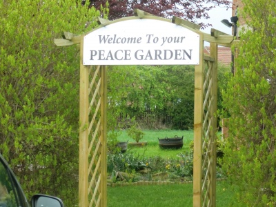 Barnsley Methodist Circuit - Peace Garden at New Hope Laithes Crescent