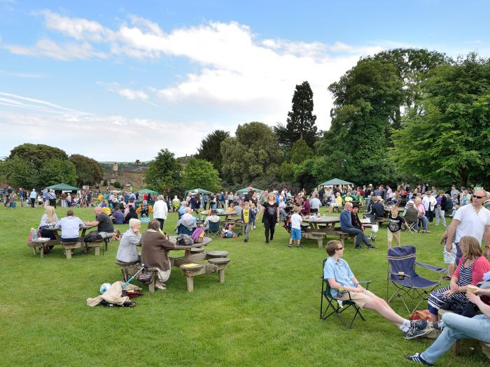 Pentecost Party In The Park - The Gathering of Many People