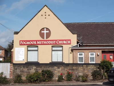 Pogmoor Methodist Church side elevation