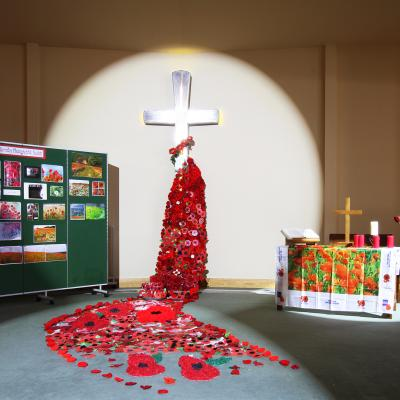 Poppy Display Emmanuel 11th Nov 2017 (1)