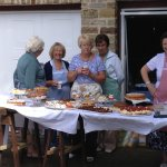 refreshments at Dodworth Garden Party