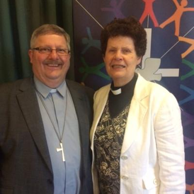Rev Anne Brown & Rev Mick Neal