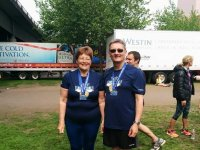 Revs Phil & Jane Sharpe 10k Portland Oregon 17th May 2015