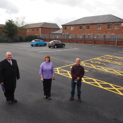 Staincross Car Park Dedication
