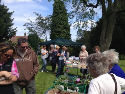 Stalls - Dodworth Garden Party