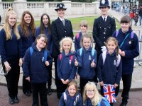 Trooping of the Colour Girls Brigade